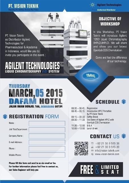 Workshop Agilent Technologies