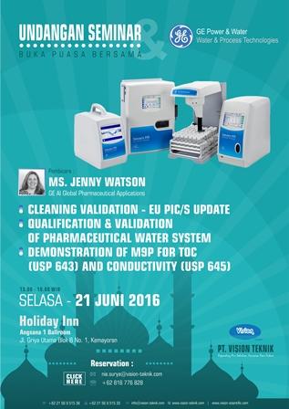 Seminar Cleaning Validation