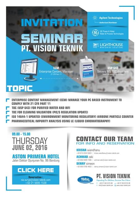 Seminar PT Vision Teknik