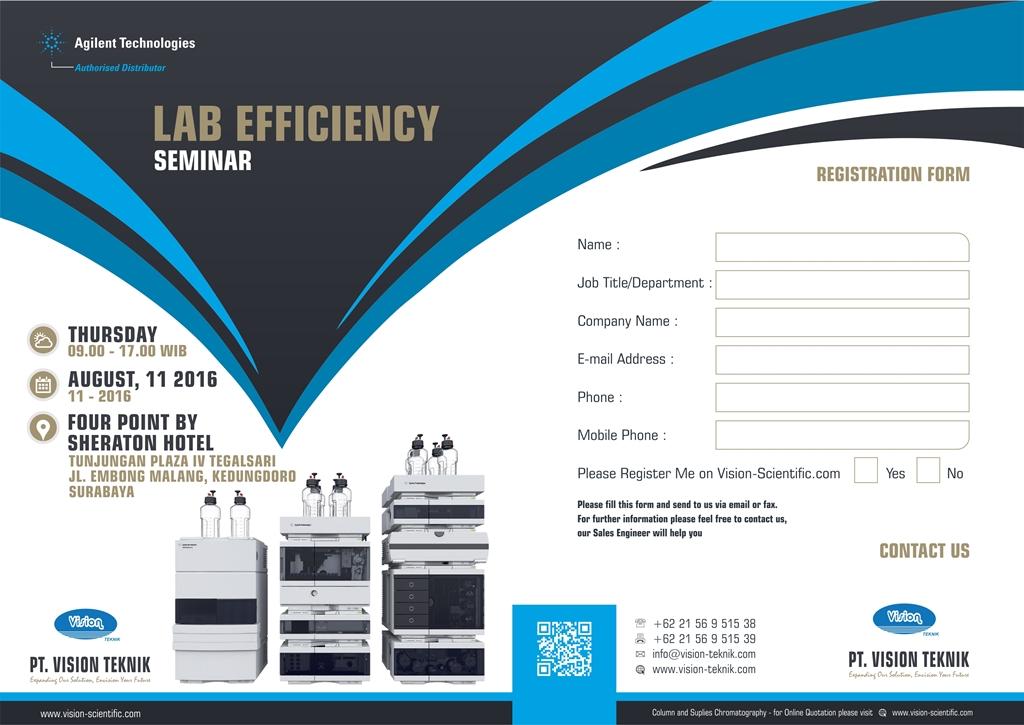 Lab Efficiency Seminar