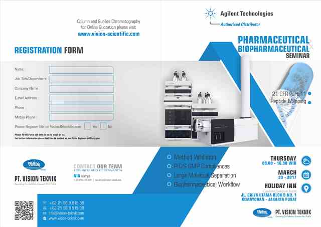 Pharmaceutical & Biopharmaceutical Seminar