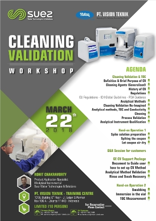 Cleaning Validation 2018