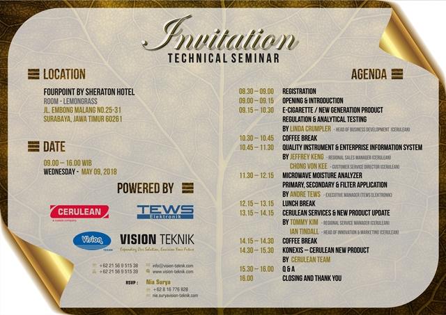 Technical Seminar 2018