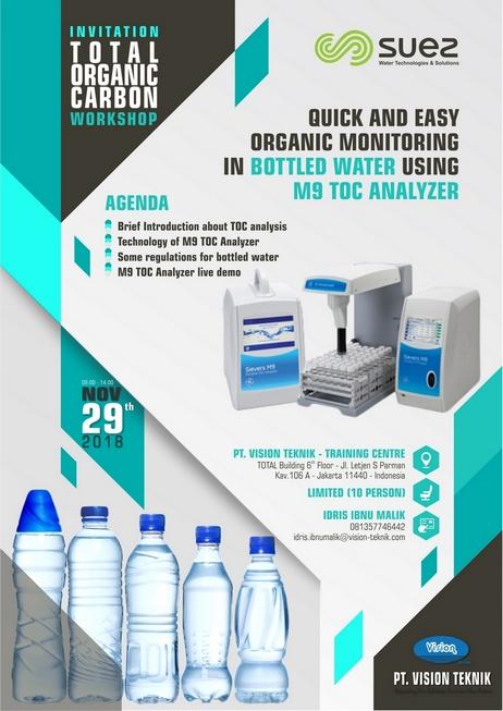 Workshop Total Organic Carbon Analysis