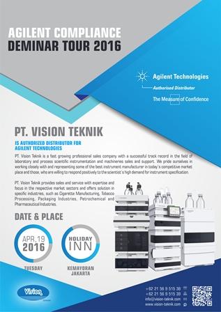 Agilent Compliance Deminar Tour 2016