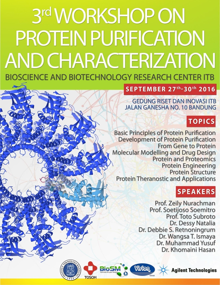 3rd Workshop on Protein Purification and Characterization