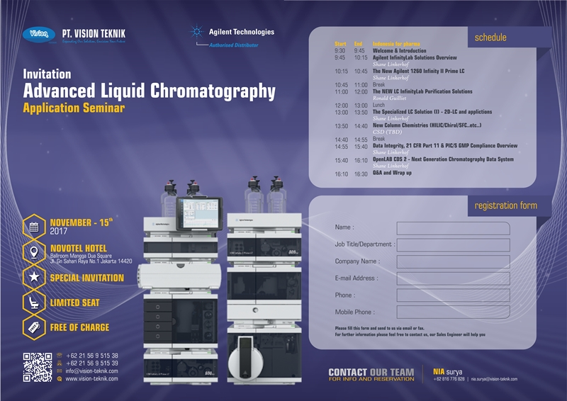 Advanced Liquid Chromatography Application Seminar