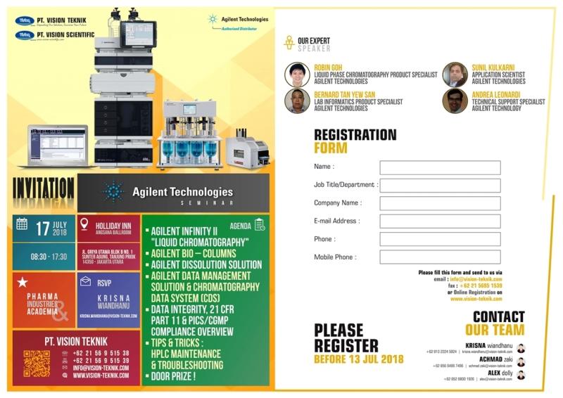 Agilent Technologies Seminar 2018