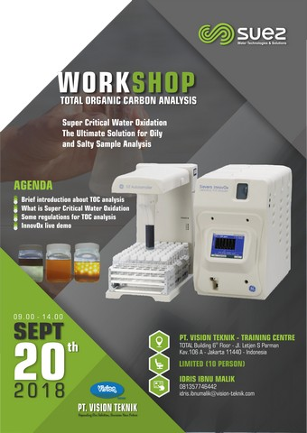 Workshop Total Organic Carbon Analysis