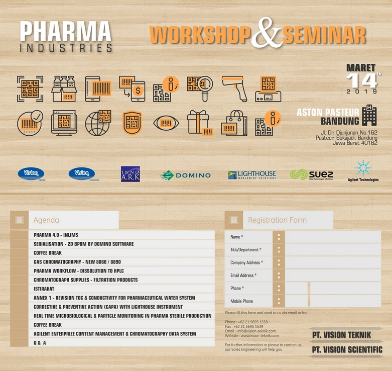 Pharma Industries Workshop & Seminar