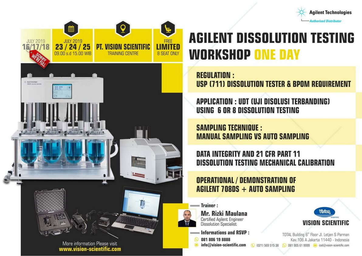 Agilent Dissolution Testing Workshop